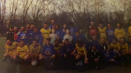 Filippo Mantovani febbraio 1994 alla partita Boys Parma - UTC